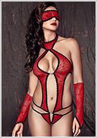 Anais Ashley Body - Red (XXL)