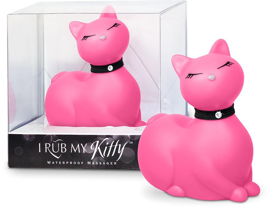"""Gatto vibrante """"I Rub My Kitty"""" - Rosa (Mini)"""