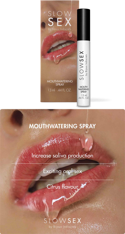 Spray activateur de salive Bijoux Indiscrets Slow Sex - 13 ml