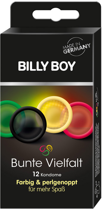 Billy Boy Bunte Vielfalt (12 Kondome)
