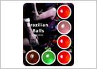 Brazilian Balls Brasilianische und duftende Gleitmittelkugeln - 6 St.