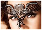 Chilirose 3705 Augenmaske - Schwarz