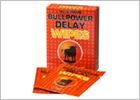 Lingettes pour retarder l'éjaculation - Bull Power Delay - 6 pièces