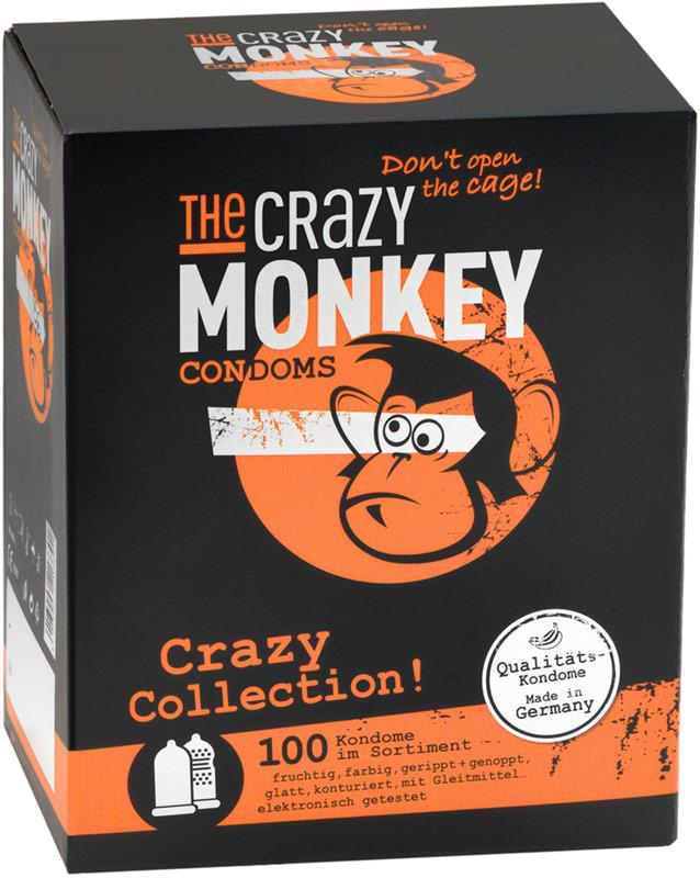 Préservatifs The Crazy Monkey - Crazy Collection (100 Préservatifs)
