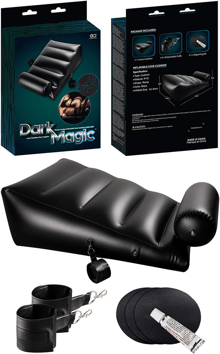 Cuscino erotico gonfiabile Dark Magic Ramp