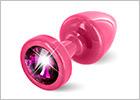 Diogol ANNI Butt Plug - Pink & purple (S)
