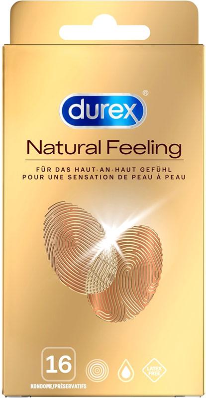 Durex Natural Feeling - Non latex condoms (16 pcs)