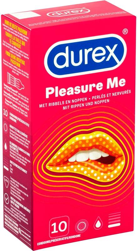 Durex Pleasure Me - Pleasuremax (10 preservativi)