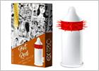 Preservativo stimolante EGZO - Hot Red Soft (1 Preservativo)