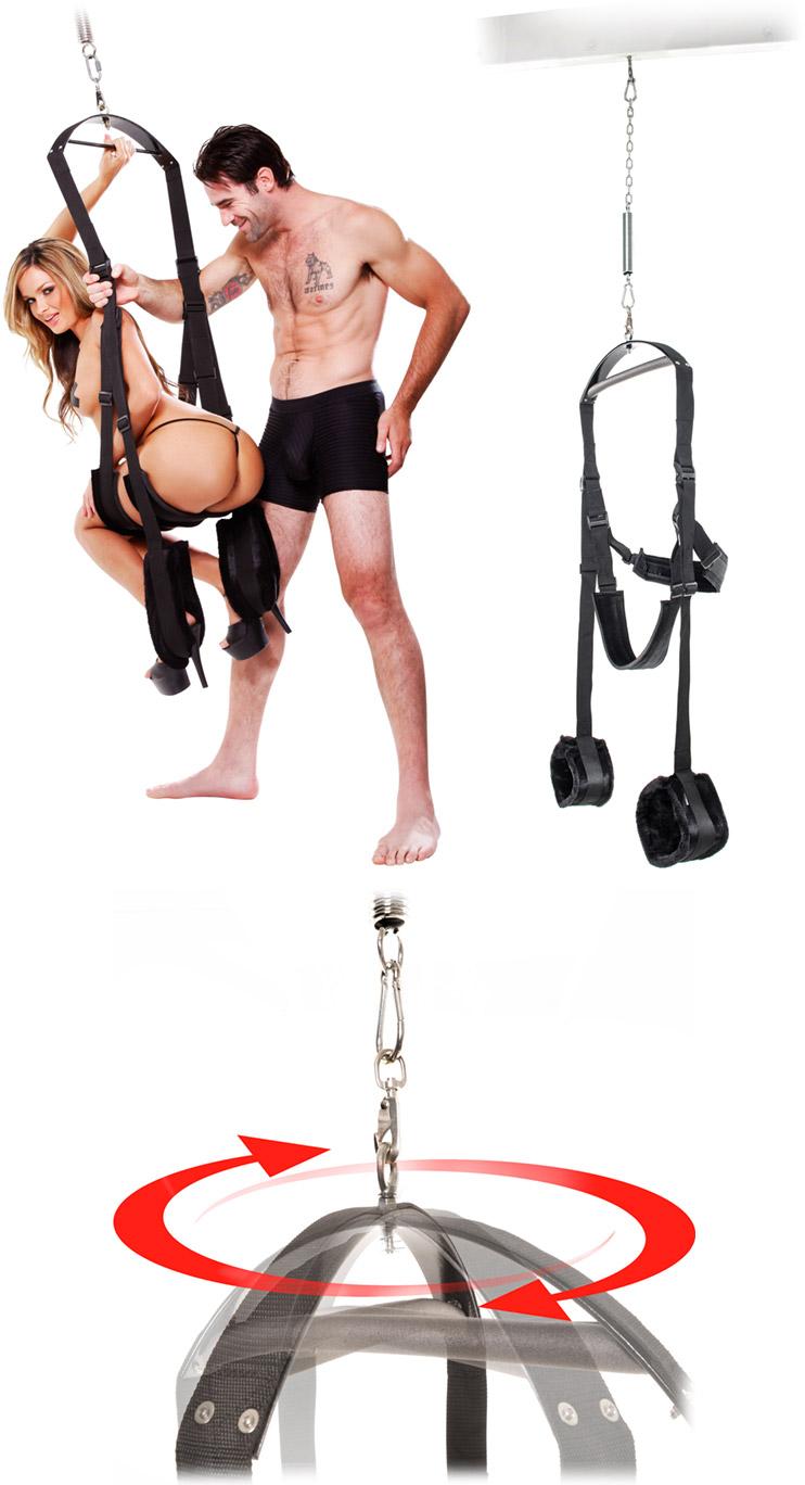 Balançoire rotative Fetish Fantasy Spinning Swing