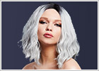 Fever Wigs Cara Wig - Ice silver