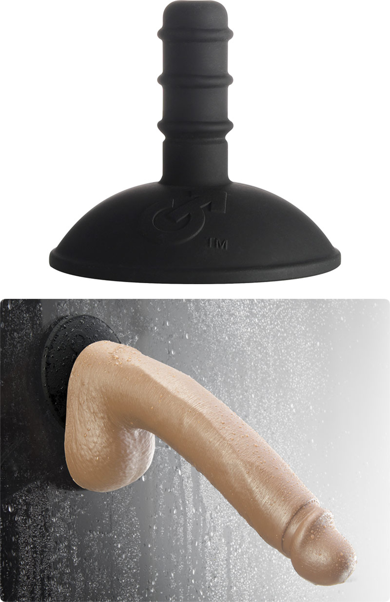Mount with suction cup for Fleshlight/Fleshjack dildos