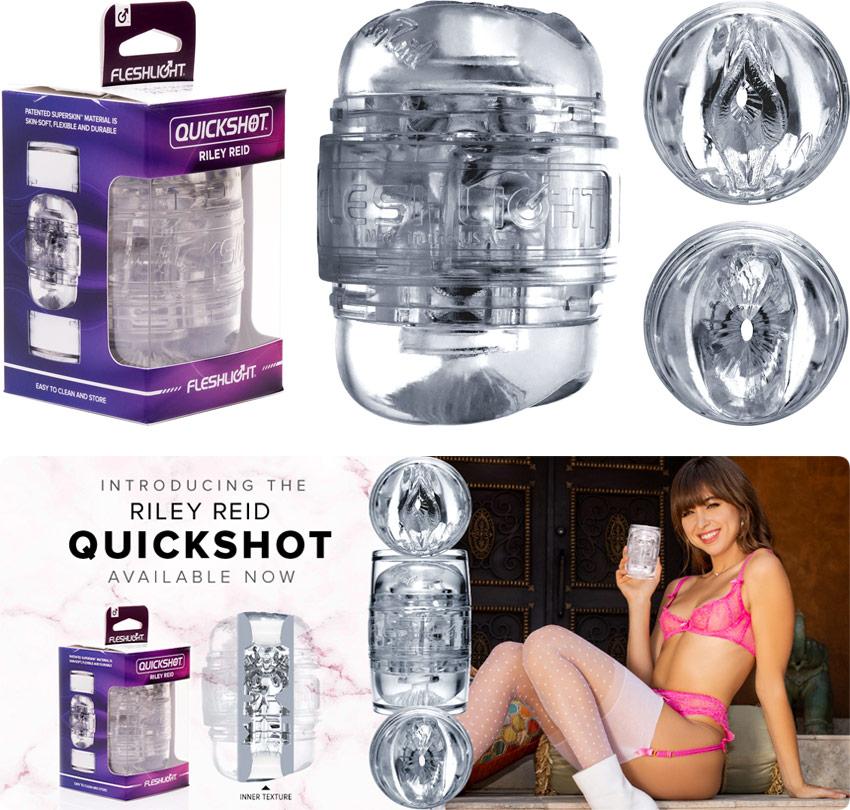 Fleshlight QuickShot Masturbator - Riley Reid