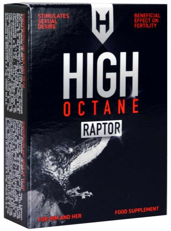 High Octane Raptor - Sexuelles Stimulans für Männer & Frauen - 5 Beutel