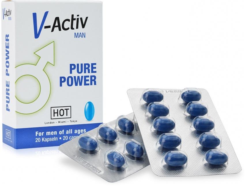 V-Activ Men - Capsules pour l'érection - 20 capsules