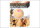 Big Boobie Beach Ball humoristischer, aufblasbarer Ball