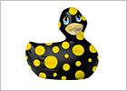 I Rub My Duckie 2.0 Happiness Vibrating Duck - Black & yellow (Mini)