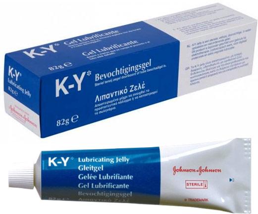K-Y Steriles Gleitgel - 82 g (Wasserbasis)