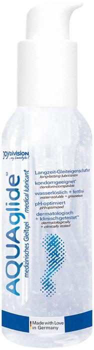 JoyDivision AQUAglide 2 in 1 Lubricant & massage gel - 125 ml