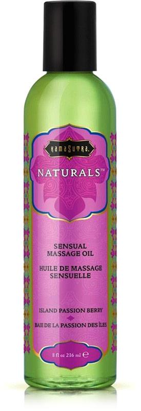 Kamasutra Naturals Massageöl - Island Passion Berry