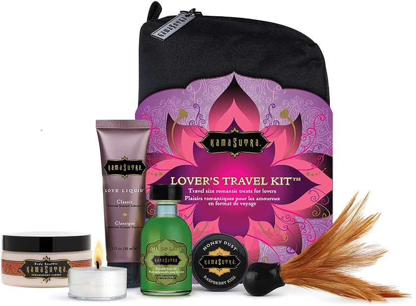 Trousse da viaggio Voyage Kamasutra Lover's Travel Kit