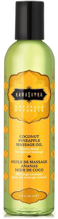 Huile de massage Kamasutra Naturals - Ananas & Noix de Coco