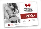Bon cadeau KissKiss.ch CHF 200.-