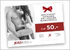 Bon cadeau KissKiss.ch CHF 50.-