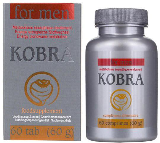 Kobra sexual stimulant for men (60 gel capsules)