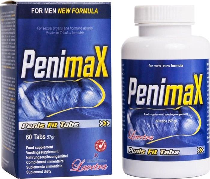 PenimaX - Pilules pour l'agrandissement du pénis (60 comprimés)