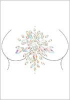 Leg Avenue Celestial jewel sticker for the body - Oval