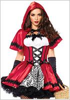 Leg Avenue Costume Petit Chaperon Rouge Gothic (S)
