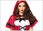 Leg Avenue Costume Cappuccetto Rosso Gothic (S)