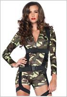 Leg Avenue Costume de militaire Goin Commando (S)
