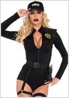 Leg Avenue Costume d'unité d'élite SWAT Team Babe (S)