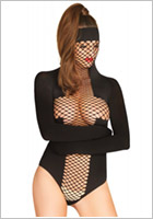 Leg Avenue KINK restraint body - Black (S/L)