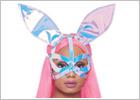 Maschera da coniglio Leg Avenue Holobunny
