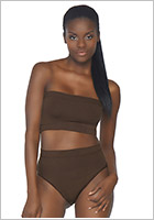 Leg Avenue Completo Naked - Deep Brown (S/M)