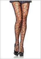 Leg Avenue Collant Distressed Net - Nero (S/L)