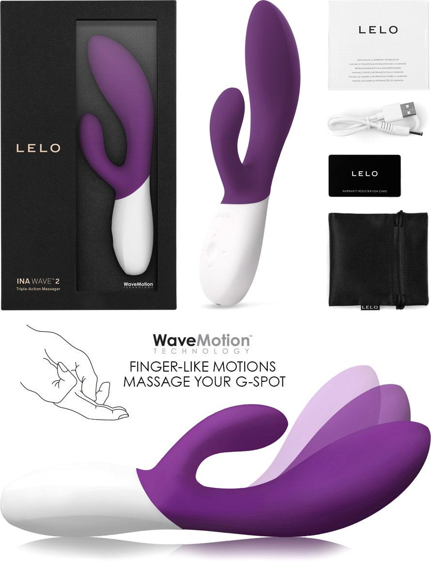LELO Ina Wave 2 Vibrator - Violett