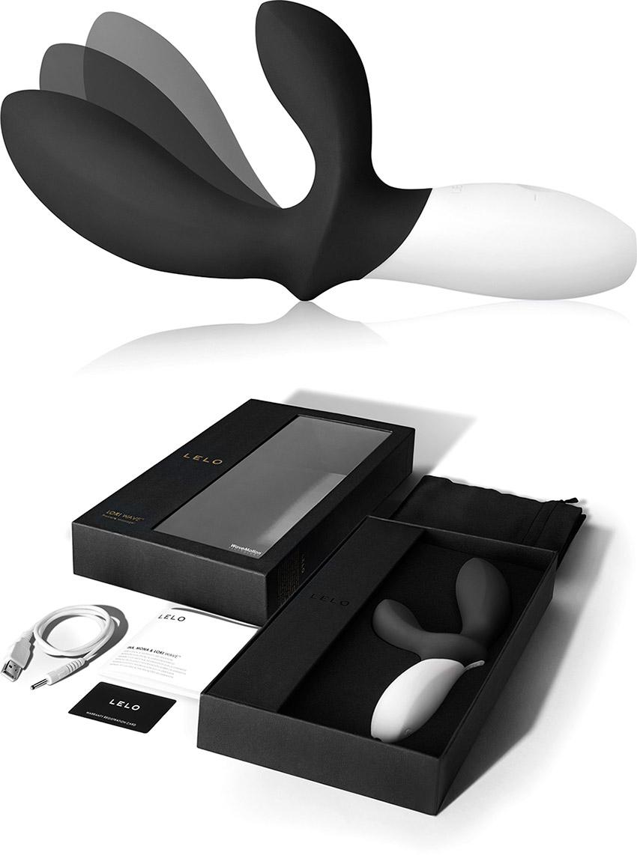 Vibratore prostatico LELO Loki Wave - Nero