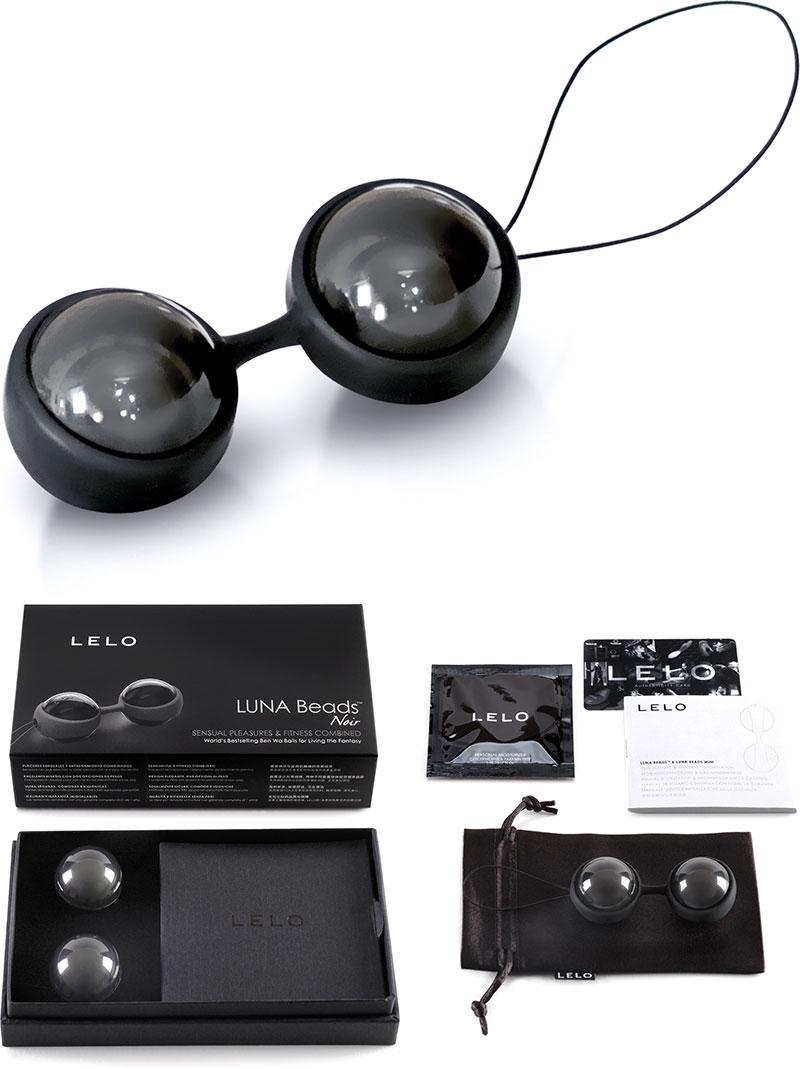 Boules de Geisha LELO Luna Beads Noir