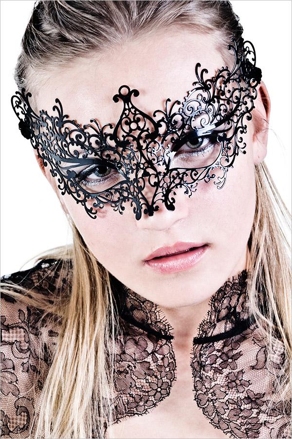 Masque vénitien Luna Veneziana - Valeria