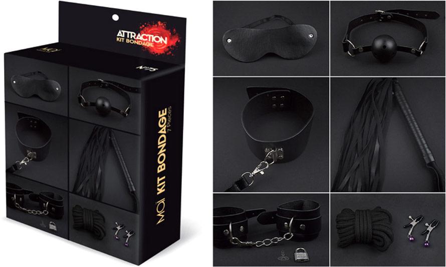 Maï Attraction bondage kit (7 accessories)