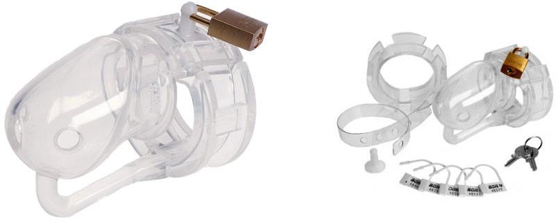 Cage de chasteté en silicone MaleSation CB6000 (S)