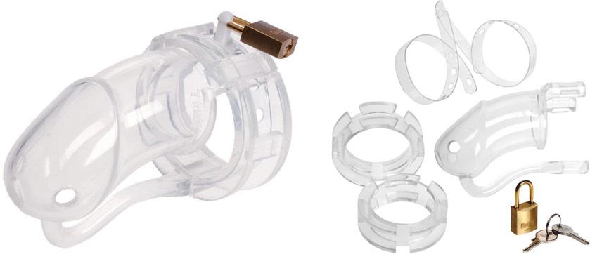 Cage de chasteté en silicone MaleSation CB6000 (L)