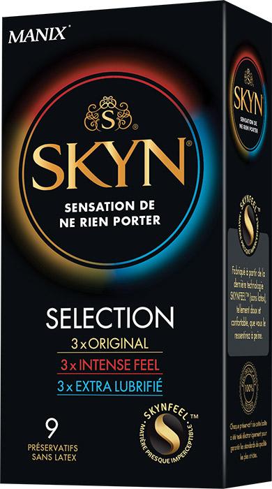 Manix Skyn Selezione - senza lattice (9 preservativi)