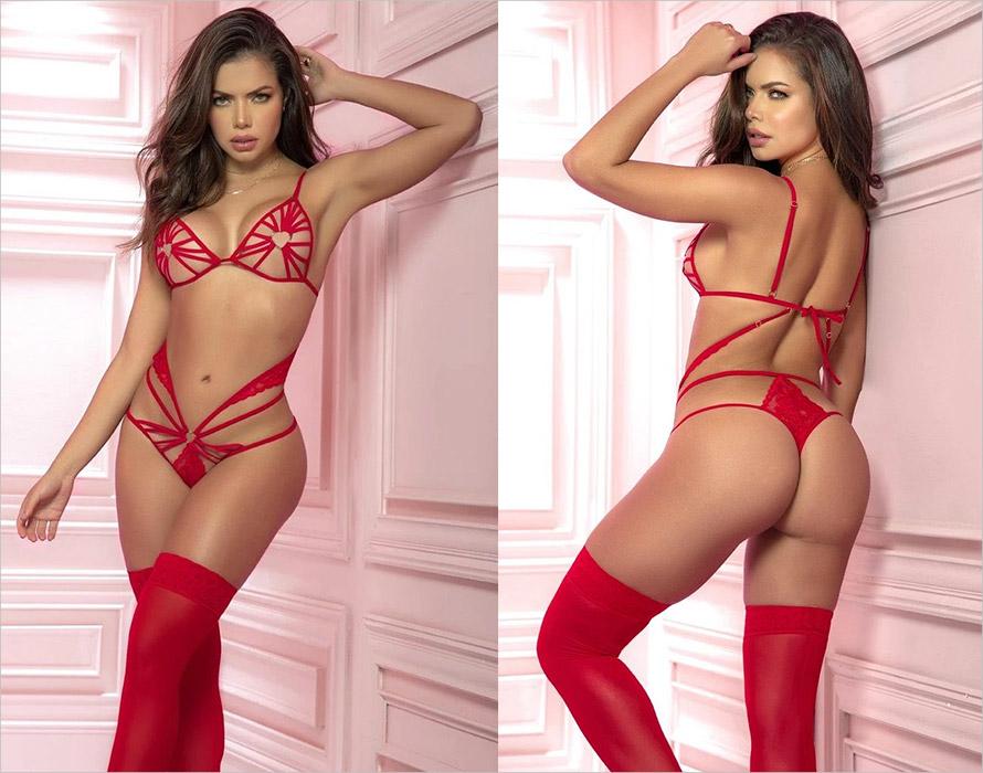 Mapalé Body 8571 - Rosso (S/M)