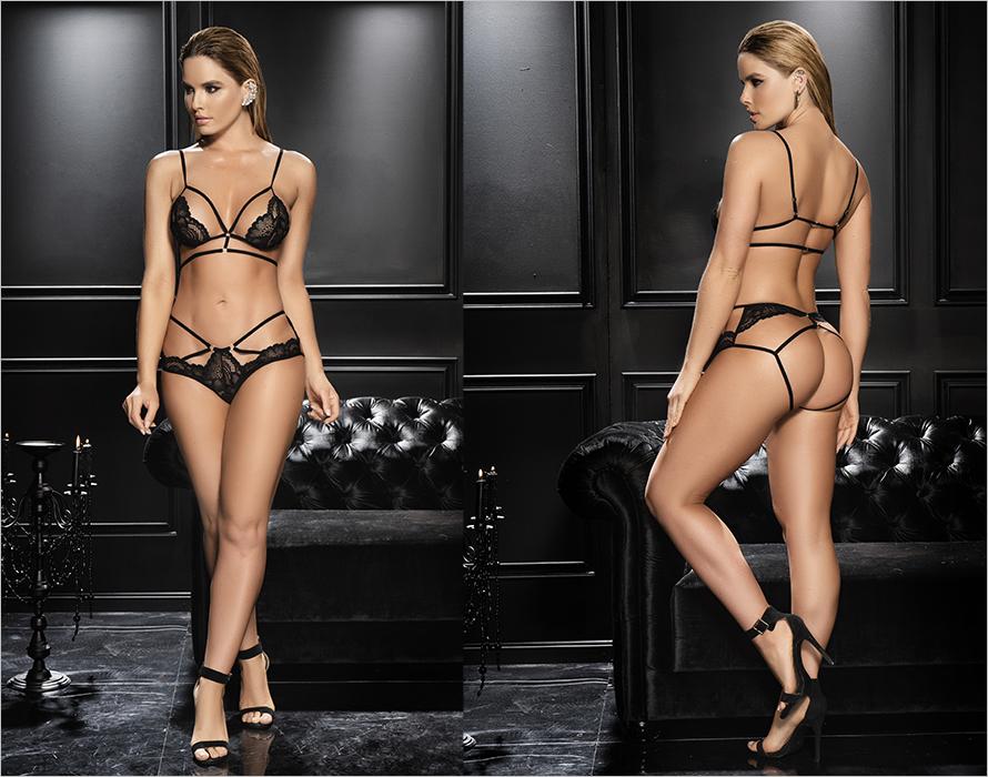 Mapalé Sexy 8610 Set - Black (M/L)