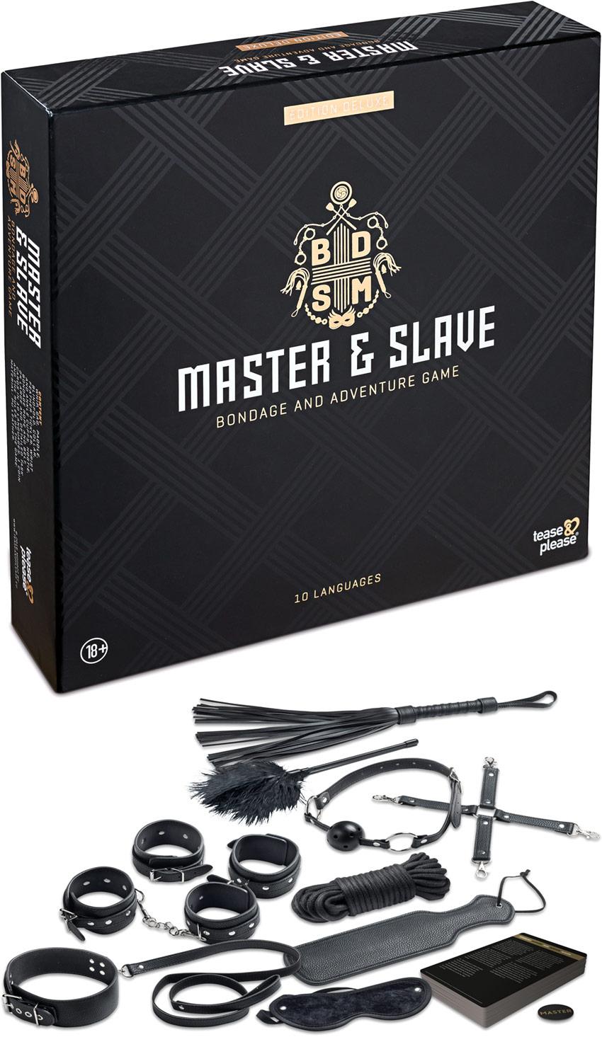Gioco e accessori bondage Master & Slave (per coppie ) - Deluxe